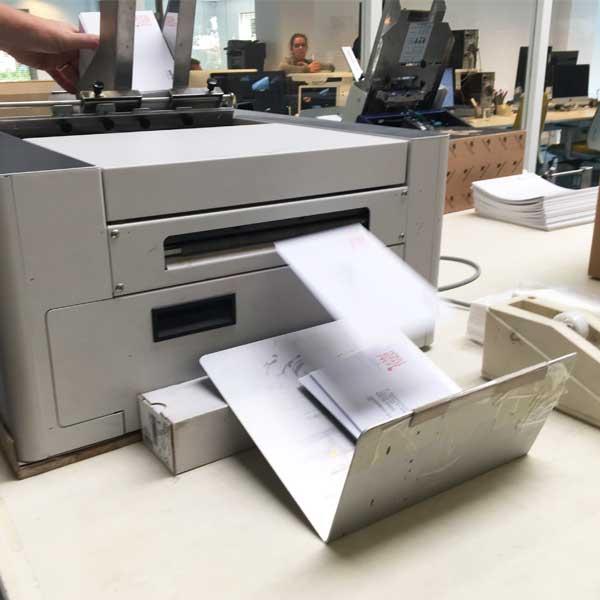 Enveloppen printen